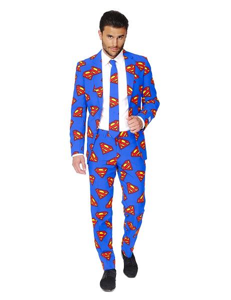 Opposuits-Anzug-Superman-Herren-Männer-Erwachsene