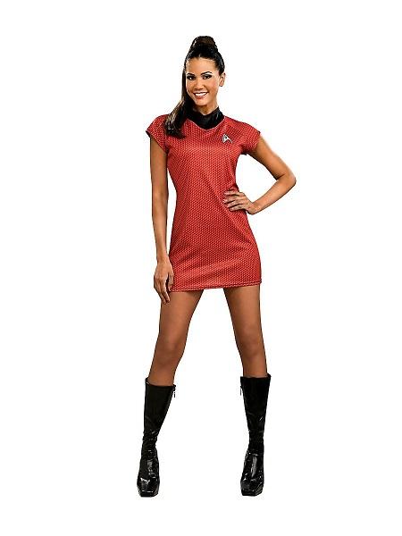 Cosplay-Kostüm-Damen-Frauen-Erwachsene-Uhura-Star-Trek