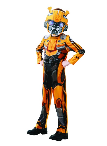 Cosplay-Kostüm-Kinder-Jungen-Mädchen-Transformers-Bumblebee