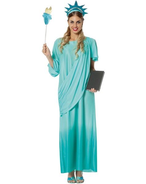 Freiheitsstatue-Kostüm-Damen-Frauen-Erwachsene-Statue-of-Liberty