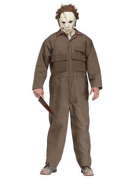 Michael-Myers-Kostüm-Herren-Männer-Erwachsene-braun