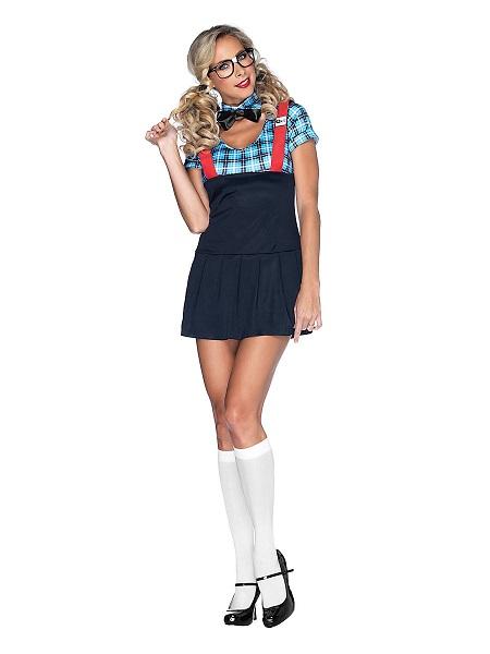 Nerd-Kostüm-Damen-Frauen-Erwachsene-Streber