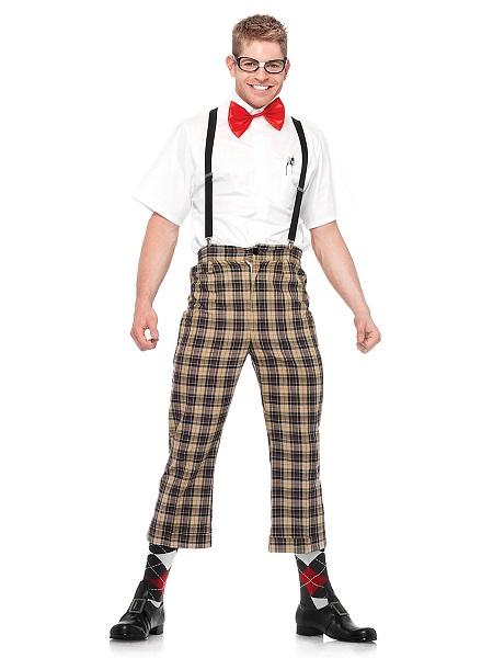 Nerd-Kostüm-Herren-Männer-Erwachsene-Streber