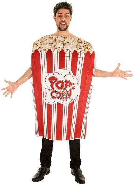 Popcorn-Kostüm-Herren-Männer-Erwachsene