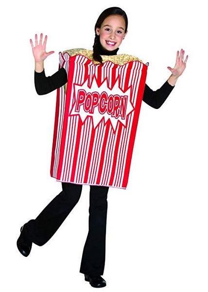 Popcorn-Kostüm-Kinder-Jungen-Mädchen