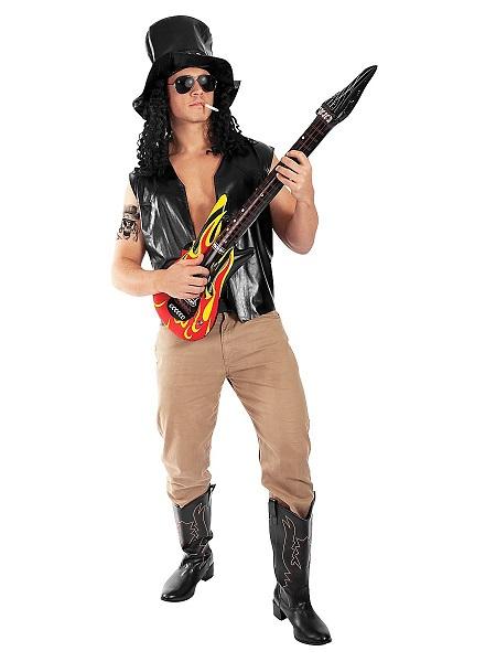 Rocker-Kostüm-Rockstar-Kostüm-Herren-Männer-Erwachsene