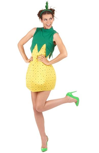 Ananas-Kostüm-Damen-Frauen-Erwachsene