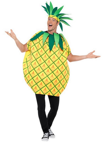 Ananas-Kostüm-Herren-Männer-Erwachsene
