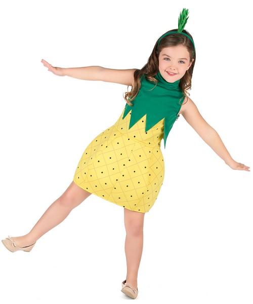 Ananas-Kostüm-Kinder-Mädchen