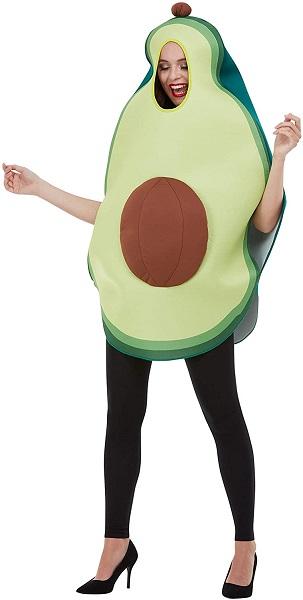 Avocado-Kostüm-Damen-Frauen-Erwachsene