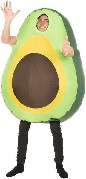 Avocado-Kostüm-Herren-Männer-Erwachsene