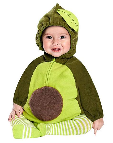 Avocado-Kostüm-Kinder-Mädchen-Jungen